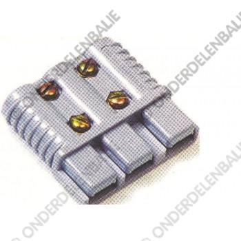 accustekker SB 3175 3-polig grijs