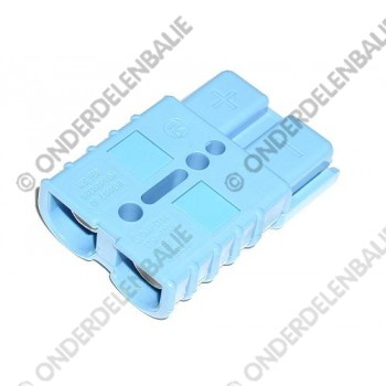 accustekker SB175  175 Amp 48 V blauw