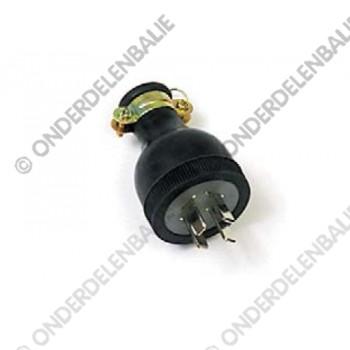 accustekker 4-polig 20 Amp. 250V