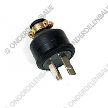 accustekker 4-polig 30 Amp. 250V