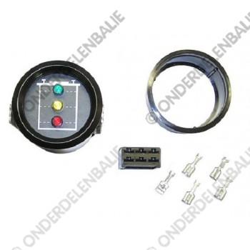 acculadingmeter 48 V met uitschakeling 60mm