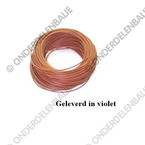 elec kabel 1 aderig 2 5 mm2 violet. Black Bedroom Furniture Sets. Home Design Ideas