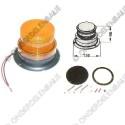 flitslamp 12/110V oranje