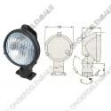 werklamp pvc schakelaar 12V 55W