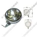 werklamp 12 V verchroomd metaal