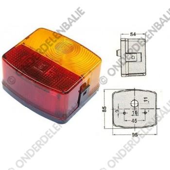 achterlamp met richtingaanwijzerlamp