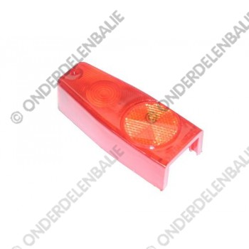 achterlamp met richtingaanwijzerlamp reserve kap rood