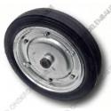 wiel rubber, diameter  80