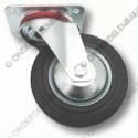 zwenkwiel rubber, diameter  80