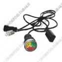 LED-indicator acculader