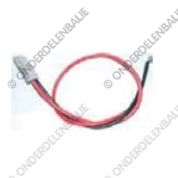 accustekker met kabel