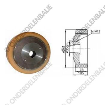 aandrijfwiel VU  diam. 245 mm
