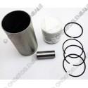cilinderbuskit (cilinderbus, piston, segmenten)