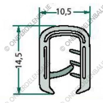 raamrubber  2-5mm