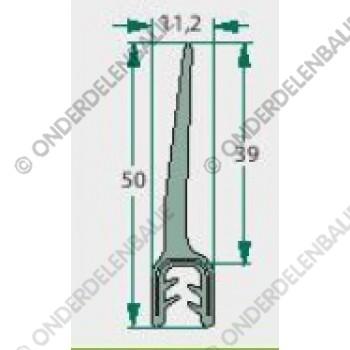 raamrubber  2-4mm