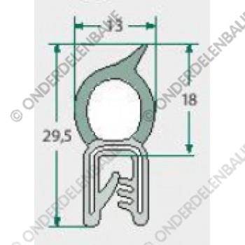 raamrubber  1-2,5mm