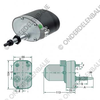 ruitenwissermotor 120gr 65-45mm