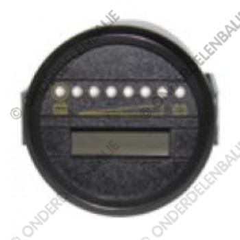 acculadingmeter 24 V uitschakeling en urenteller