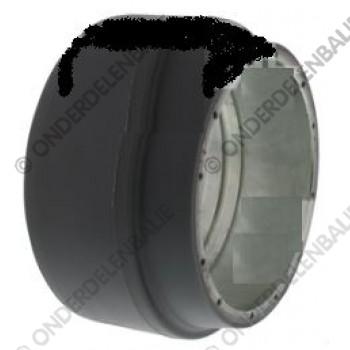 aandrijfwiel 199.5 x 76 mm, as diameter 103.5 mm