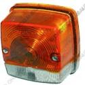 richtingaanwijzerlamp nummerplaatverlichting kap rood