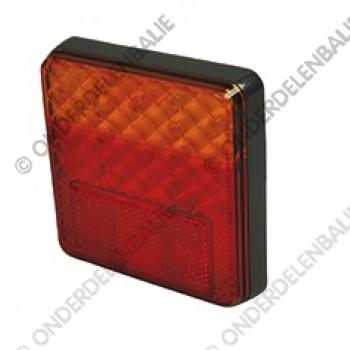 acherlicht 12/24 vierkant LED