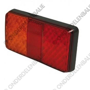 achterlicht 12/24 rechthoekig LED